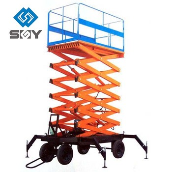 Luxury Type Hydraulic Scissor Lift Factory Sell