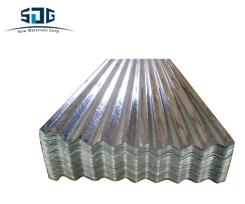 Multifunction materials for roofing of zinc ore corrugated steel