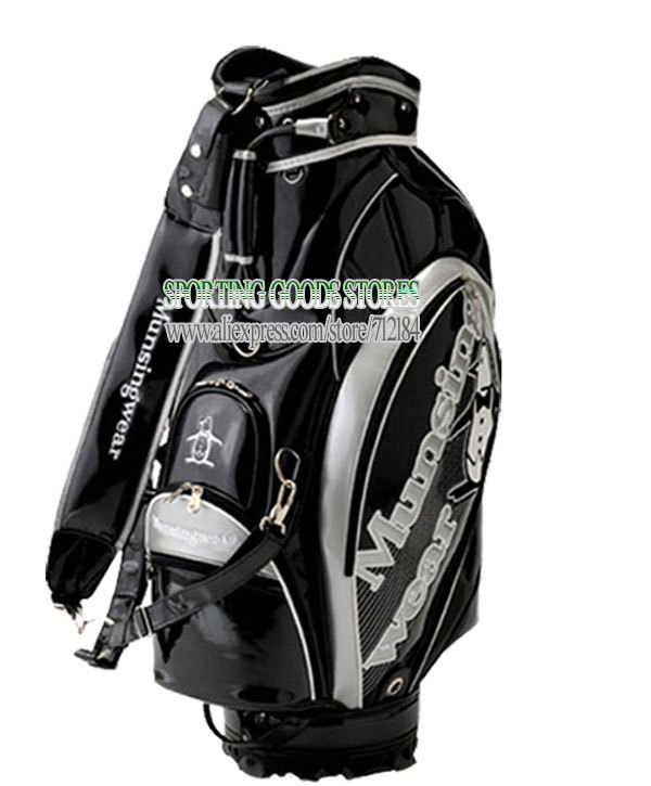 Golf Bags For Sale >> Buy Hot Sale New Mens Golf Bags Pu Staff Golf Bag 9 5 Inch 3 Colors