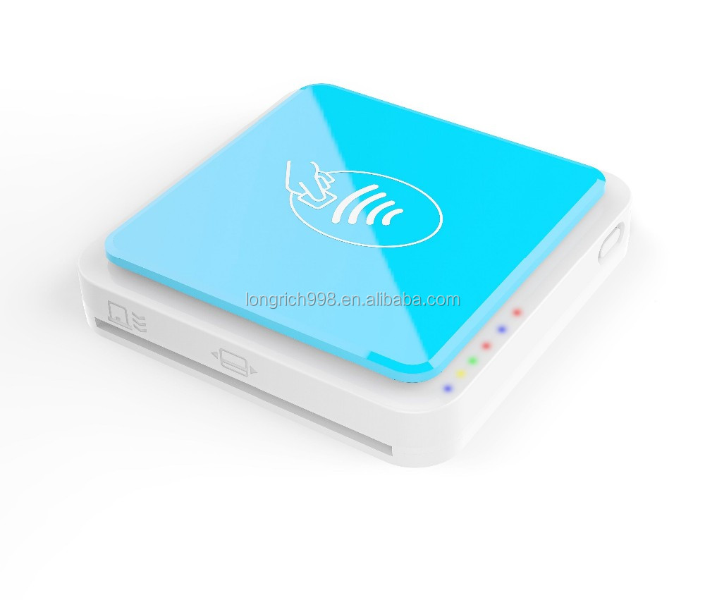 Smallest All In One Bluetooth Credit Card Reader For Android & Ios - Buy  Rfid Credit Card Reader,Salary Pay Slip,Android Pos Terminal Product on