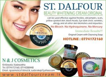 St dalfour facial cream