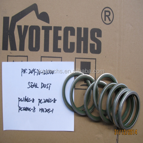 DIGGER DUST SEAL FOR 20Y-70-23220 20Y-70-23221 20Y-70-23222 20Y-70-23223 20Y-70-23224 PC160-8 PC200-8 PC228US-8 HB205-1