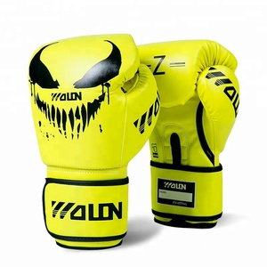 16Oz synthetic leather boxing gloves