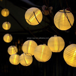 Outdoor Party Lantern decoration string light chain 20LED