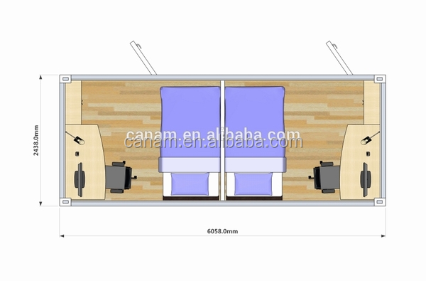 CANAM-Light Steel Permanent Prefabricated House Designs for Sale