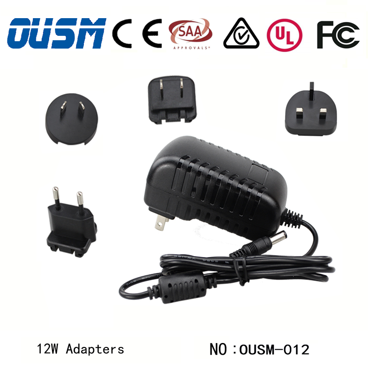 Customize made High Quality 7.2v ac/dc power adapter with cUL listed