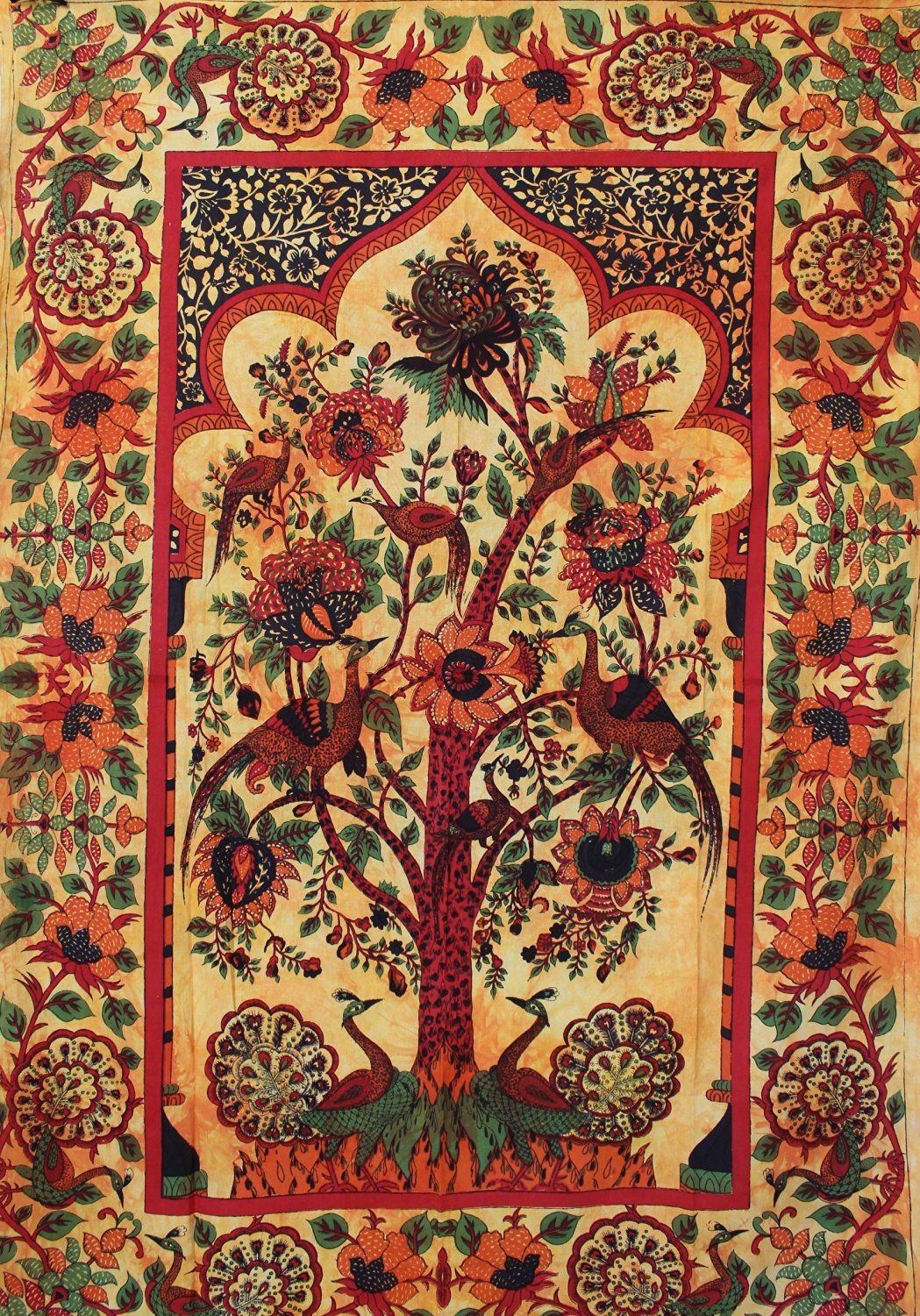 Buy Tree Of Life Tapestry Indian Peacock Tapestry Tree Peacock Tapestry Indian Tapestry Hippie Gypsy Wall Hanging In Cheap Price On Alibaba Com