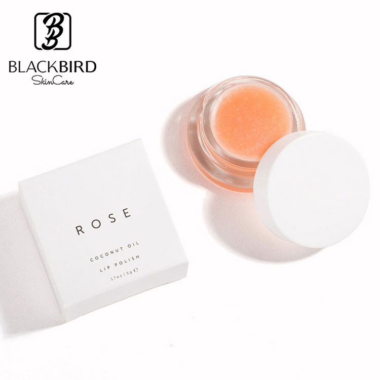 Private Label Cosmetic Lip Care Schonendes Peeling mit Rose Diamonds Lip Scrub