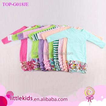 c96c4c12109a Newborn Infant Gowns Sleeping Wear Long Sleeve Ruffle Bottom ...