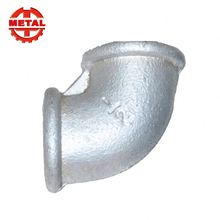 China BS Standard Malleable Iron Gi Pipe Fittings elbow