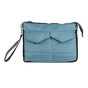 SODIAL(R) iPad Sleeve Handbag Pouch Cover Bag for Mini ipad 1/2/3/4/5 Air 10 Inch Case(Blue)