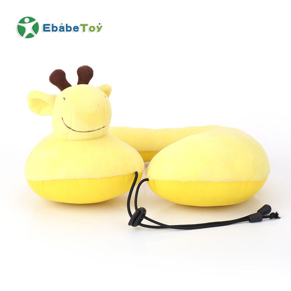 Super Soft U Shape Neck Pillow Airplane Travel Cushion Car Neck Pain Cervical Pillow