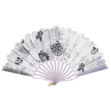 Аксессуары для свадебного платья в китайском стиле, аксессуары для свадебного танца, складные летние платья с цветочным узором, новинка 2019(Китай)