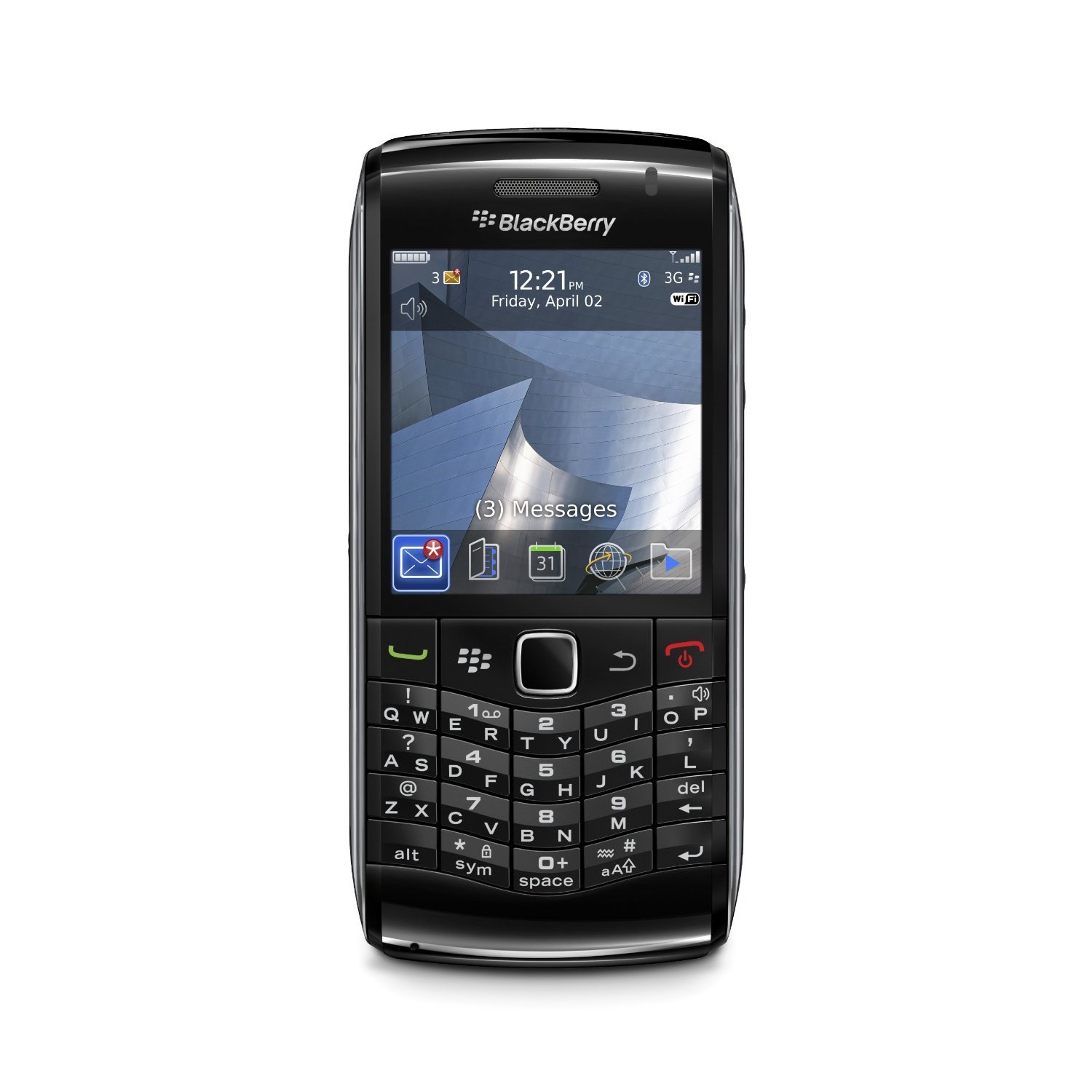 Get Quotations · Blackberry 9100 Pearl 3G Unlocked Phone with 3 MP Camera,  Wi-Fi, Bluetooth