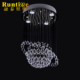 Saturn Crystal Drops Crystal Ball Sphere Pendant Ceiling Lamp
