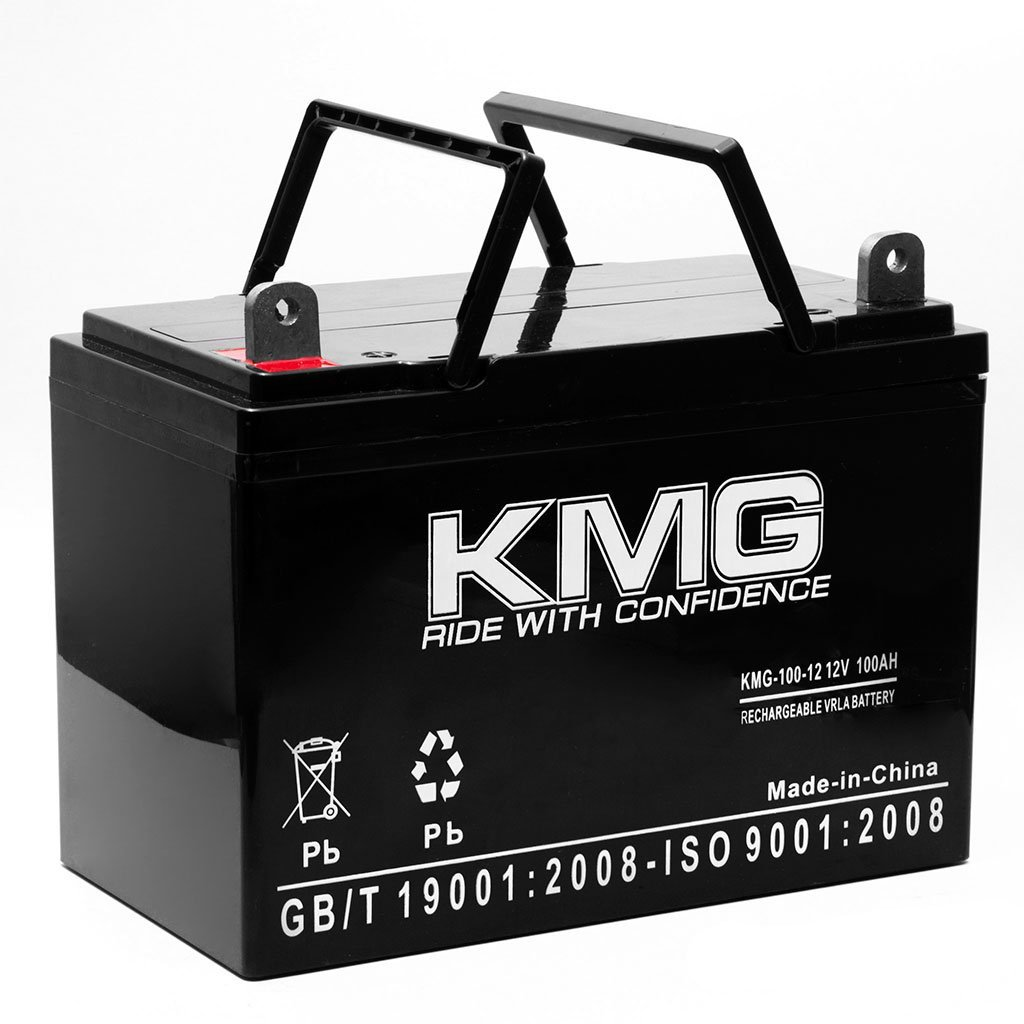 KMG 12V 100Ah Sealed Lead Acid KMG-100-12 Battery Replace Universal Battery UB121000