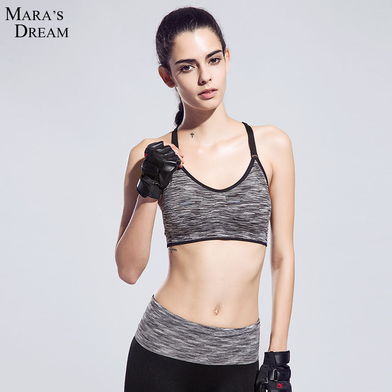High Quality Absorb Sweat Professional Sports Bra Gym ...