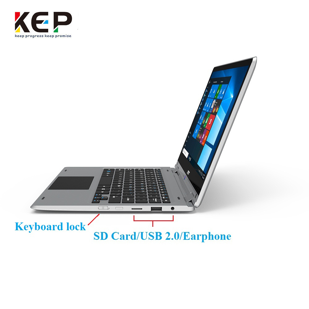Hot Selling 11.6inch yoga laptop  Ultrabook Laptop Tablet PC notebook