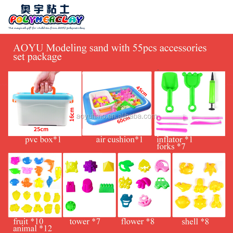 China Supplier Colored Educational Modeling Magic Sand Play ...