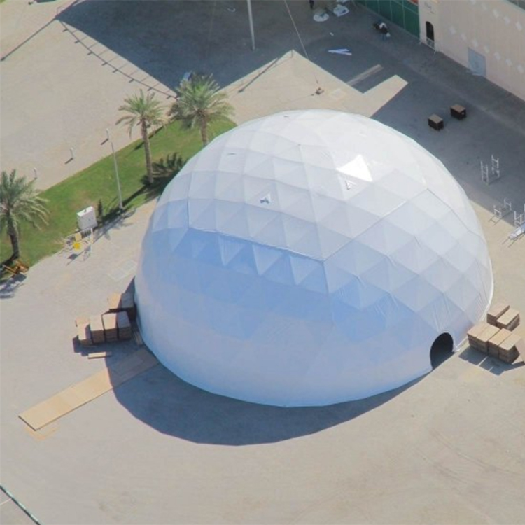 New Product 40m Diameter Big Events Planetarium Geo Dome <strong>Tent</strong> For Sale