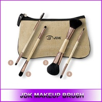 JDK makeup brush New Arrival 4pcs Double ends Makeup Brush Set