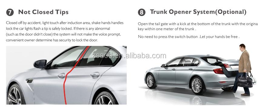 Advance Unique Design Door Handle Control Open Door Trunk Opener Automatic  For Bmw 1 Series/3 Series/ 5 Series - Buy Original Keyless,Door Handle Lock