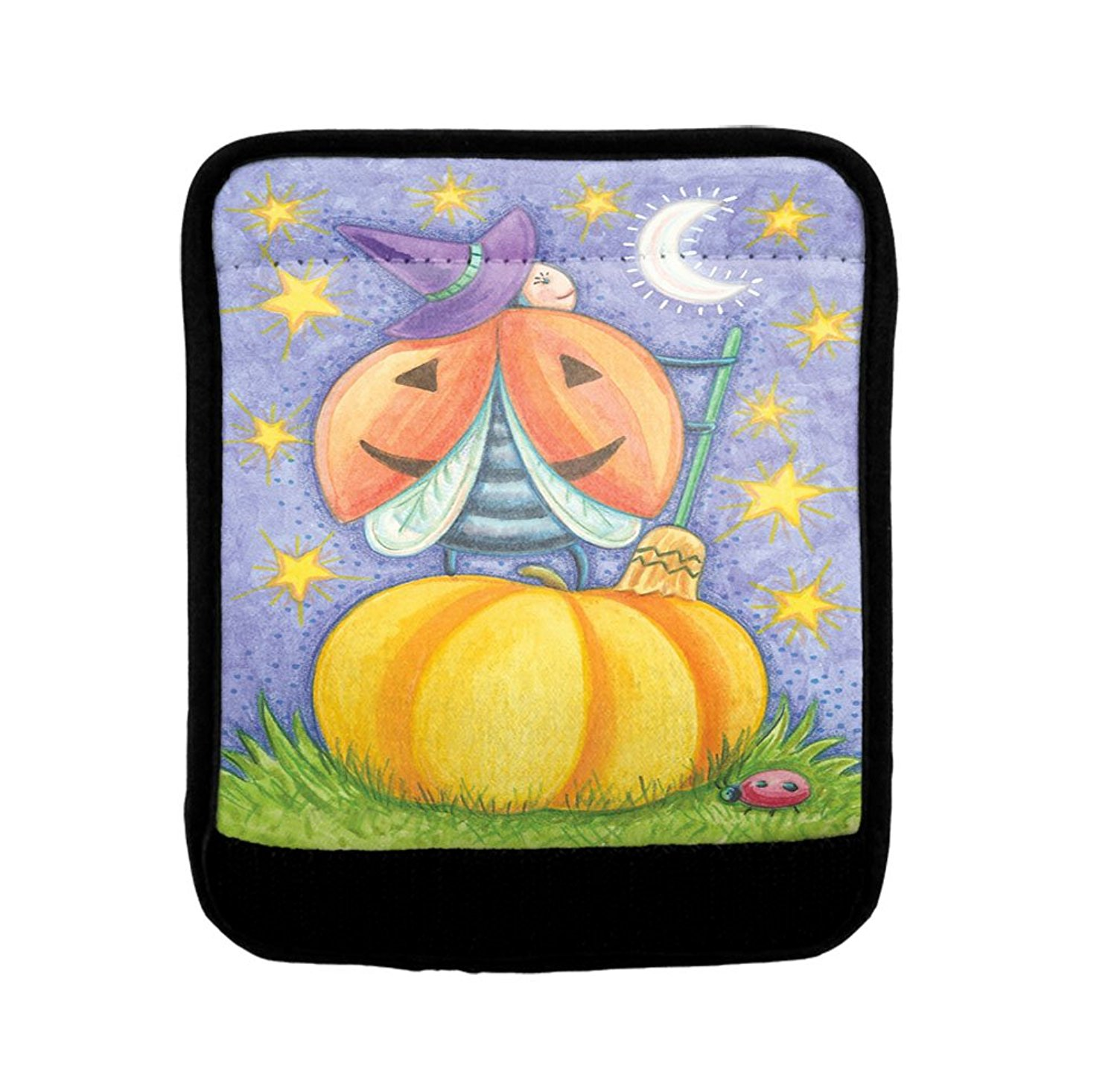 ALAZA Luggage Protector,Halloween Pumpkin Elastic Travel Luggage Suitcase Cover,Washable and Durable Anti-Scratch Case Protective Cover for 18-32 Inches