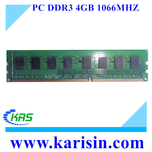 High quality 1066mhz 2gb 4gb pc 8500 ddr3 ram module with ETT original chips
