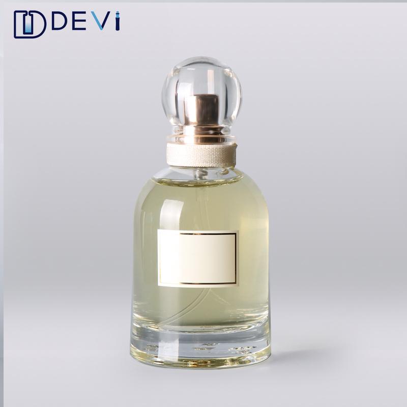 Devi Luxus 50 ml Klare Schönheit Parfüm Leere Flasche