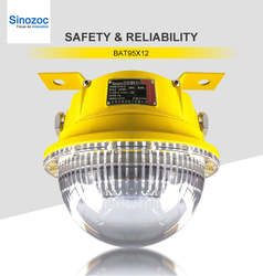 ATEX Certificate led lamp 20w led explosion proof light IP66