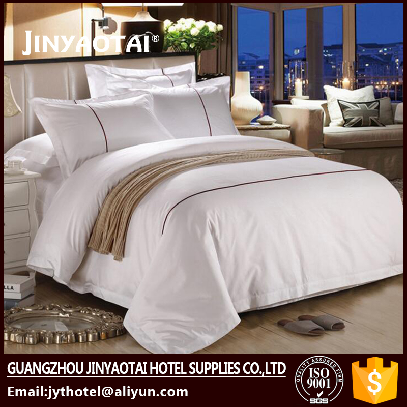 Superieur 100% Cotton Hotel Strip Bedding Linen/ Hotel Bed Sheet Factory In Guangzhou    Buy Bedding Linen,Bed Sheet Factory,Hotel Bedsheet In Guangzhou Product  On ...