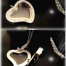 Handmade Fashion Heart Cross Sterling Women Accessories Jewellery Pendant Valentine's Necklace