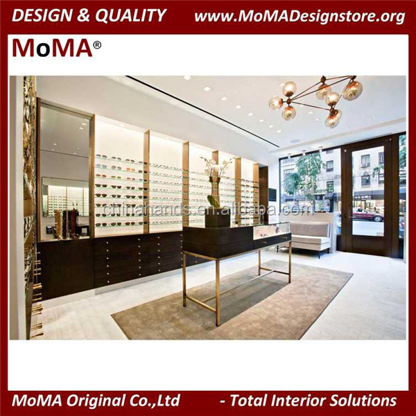Optical Store Design Metal Shop Fitting Shop Furniture