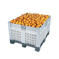 1200x1000x810mm collapsible plastic fruit crates plastic moving boxes plastic folding crate
