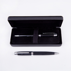 Elegant luxury heavy gift ball point pen with custom logo printing and engraving metal ball pen
