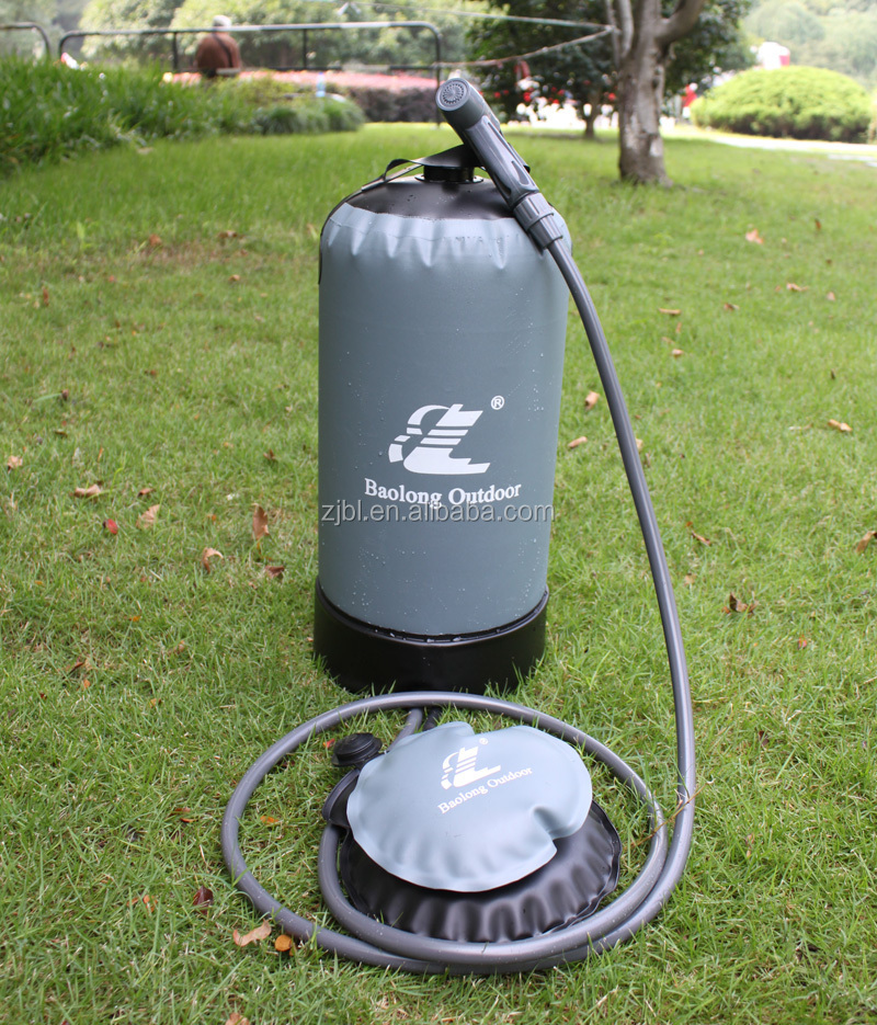 hot sales new products pressurized portable solar outdoor camping shower buy outdoor shower. Black Bedroom Furniture Sets. Home Design Ideas