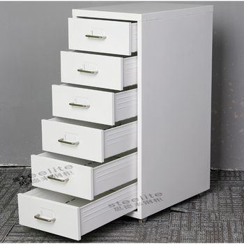 Helmer Living Room Furniture Sofa Side Steel Small Drawers Cabinet Mobile  Filing Cabinet With Wheels