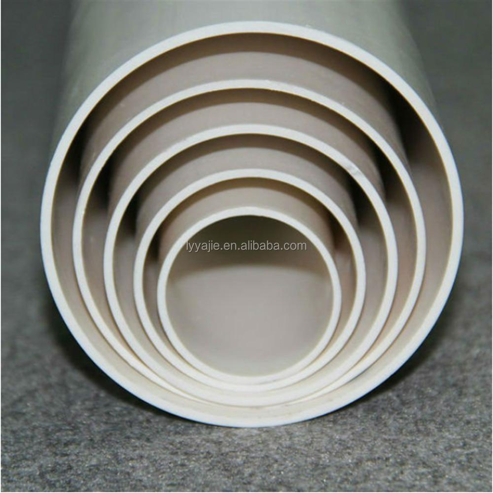 Economici tubo in pvc tubi in pvc per il drainaging acqua for Tubi per acqua in plastica e rame