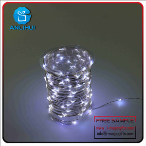 CE ROHS Indoor Outdoor Christmas Light LED Copper Wire String Lights