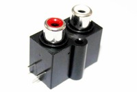 New Style 2 Pins RCA Connector/Connector for Audio/Female RCA PCB Connector