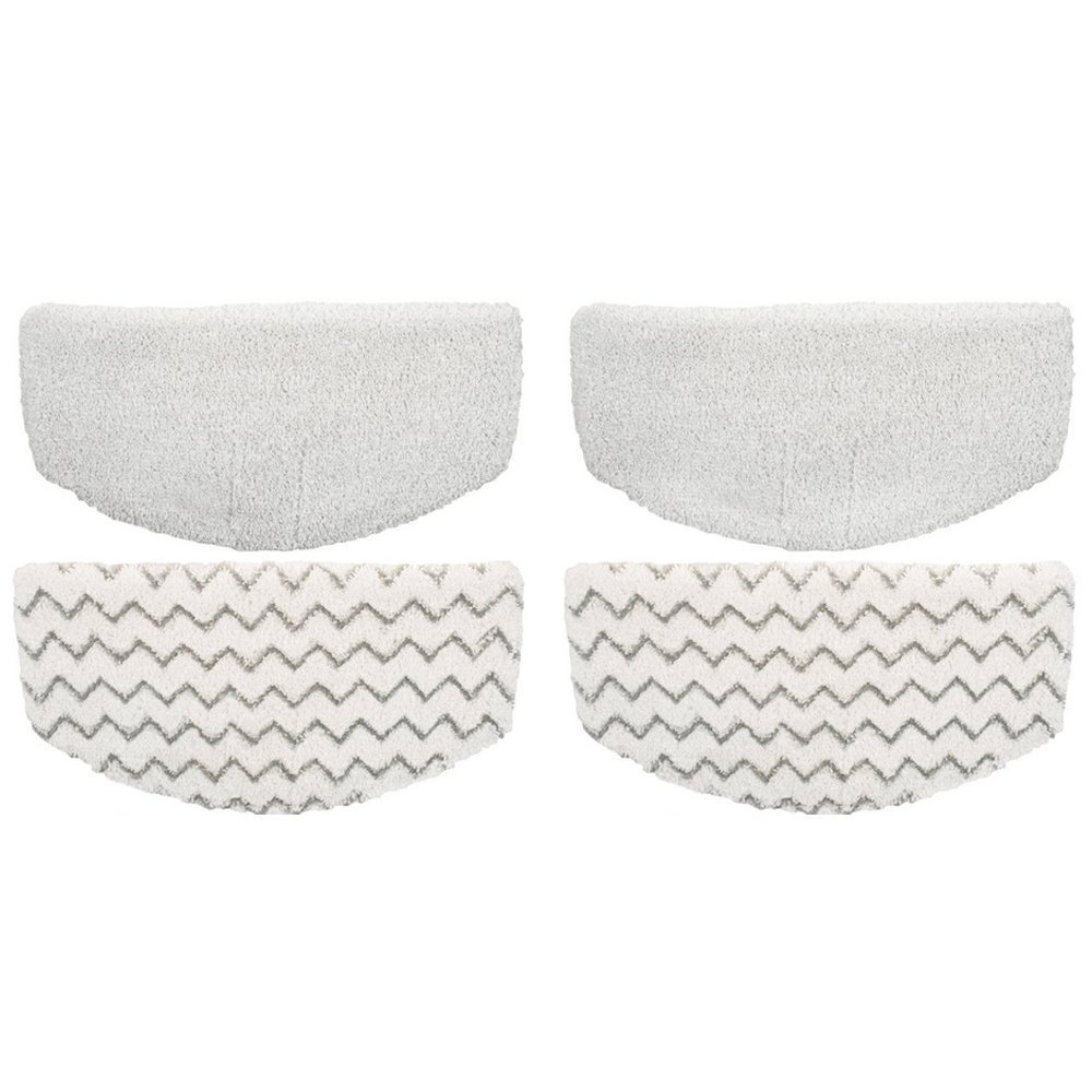 EcoMaid 4 Pack Replacement Bissell Powerfresh Pads for Bissell Powerfresh Hard Floor Steam Cleaner 1940 1440 1806 Series Steam Mop Compare to Part # 5938 & 203-2633