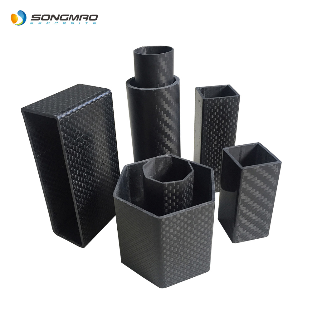 Hot koop carbon fiber buis 30mm 50mm 60mm 100mm