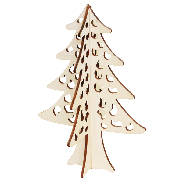 2016 groothandel lasersnijden handgemaakte custom kerst for Houten decoratie boom