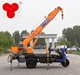 3 Ton Mini Tricycle Chassis Crane 3 Ton Hydraulic Crane