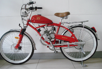 2014 hot sale cheap gas motorized bicycle