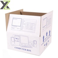 Top quality low cost computer packaging corrugated carton box
