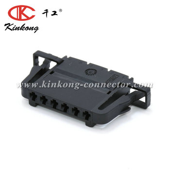 6 Way Vw 3b0972706 Female Electronic Accelerator Pedal Connector For 99-05  Jetta Golf Gti Mk4 Audi - Buy Electronic Accelerator Pedal Connector,6 Pin