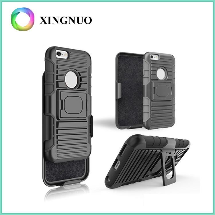 2016 Trending Products Shell Holster Belt Clip PC TPU Combo Case for iPhone 6 6s
