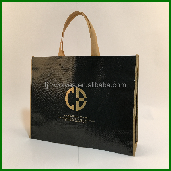 Full color printing <strong>Eco</strong> promotional tote bag for shopping