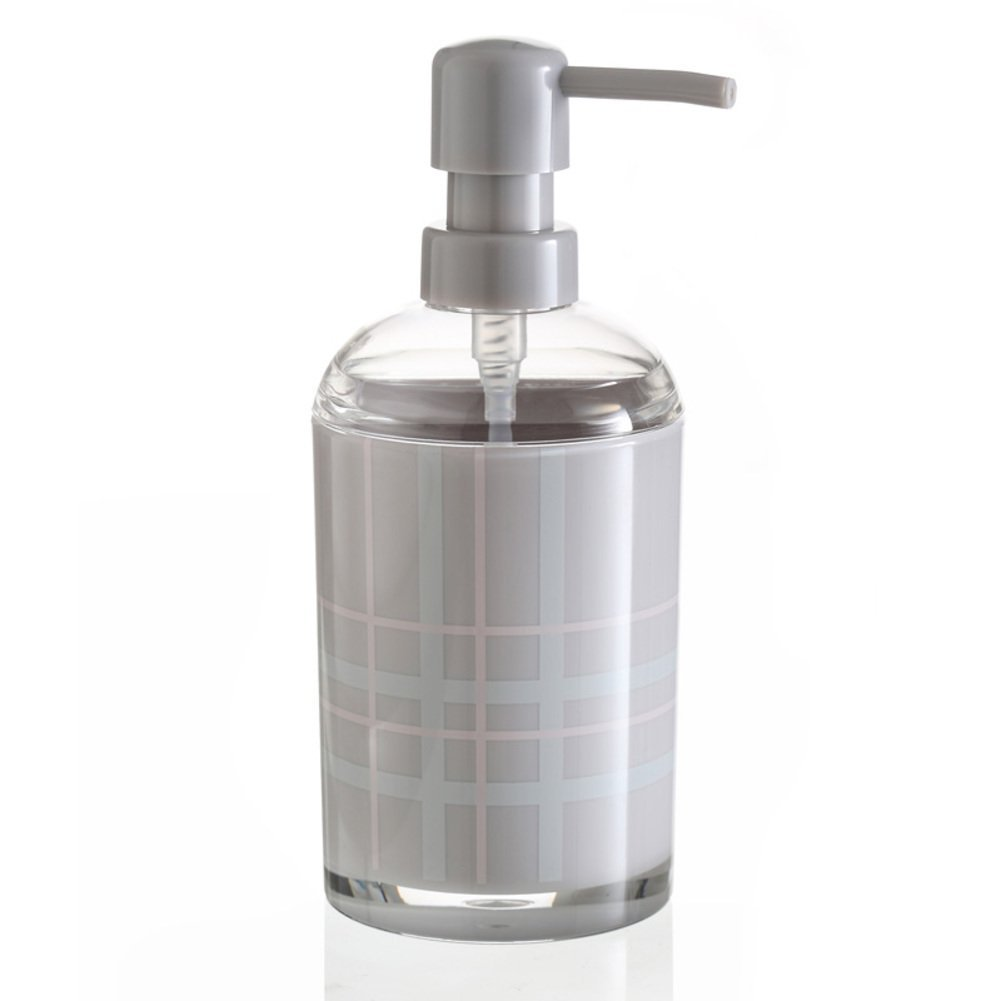 JIUCHANPIN Bathroom soap dispenser emulsion bottle push type hand soap bottle soap pump bath bottle-7.519Cm-A